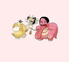 Psyduck, Meowth, Lickitung MEME by GrowD7