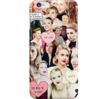 ScarJo collage  iPhone Case/Skin