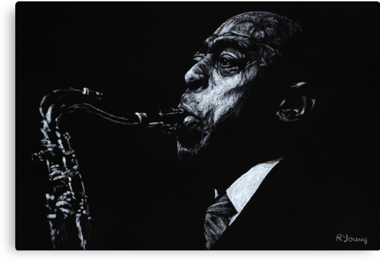 The Jazz Legend Archie Shepp by Richard Young
