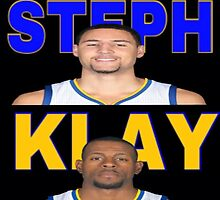 Steph, Klay, Dre G.S. Warriors  by TheItarican