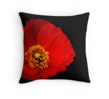 Chiffon Petals Throw Pillow