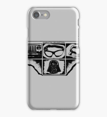 Dark Side Description iPhone Case/Skin