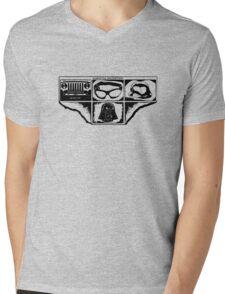 Dark Side Description Mens V-Neck T-Shirt
