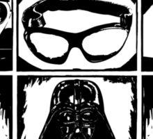 Dark Side Description Sticker