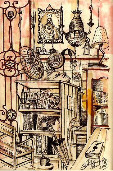 A Study Of My Inner Sanctum  by John Dicandia  ( JinnDoW )