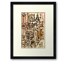 A Study Of My Inner Sanctum  Framed Print