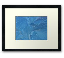 Frost on Windscreen Framed Print