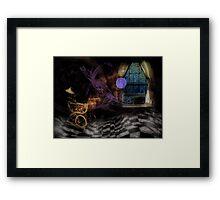 'Scary Dreams' Framed Print
