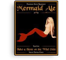 Mermaid Ale Canvas Print