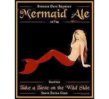 Mermaid Ale Photographic Print