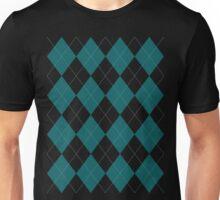 Blue Argyle Unisex T-Shirt