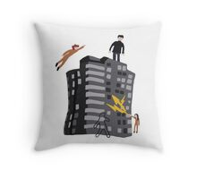 Rudy 2's Sweater Throw Pillow