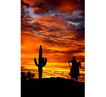 Wild Wild West Photographic Print