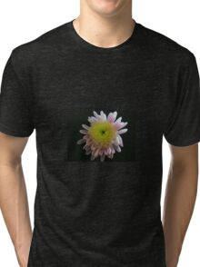 Lilac and Yellow Tri-blend T-Shirt