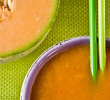 Melon and Winter Squash Soup With Chili Sting by Ilva Beretta