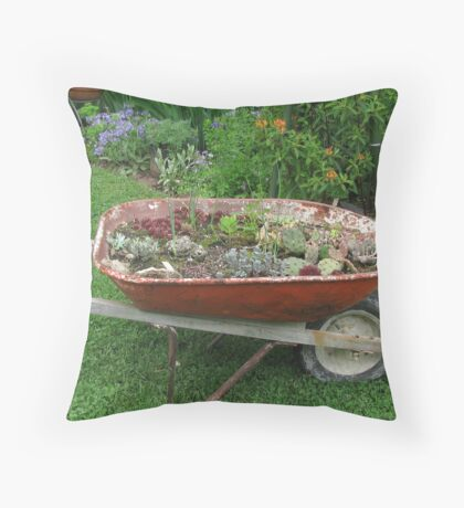 Plants Chase the Sun Throw Pillow