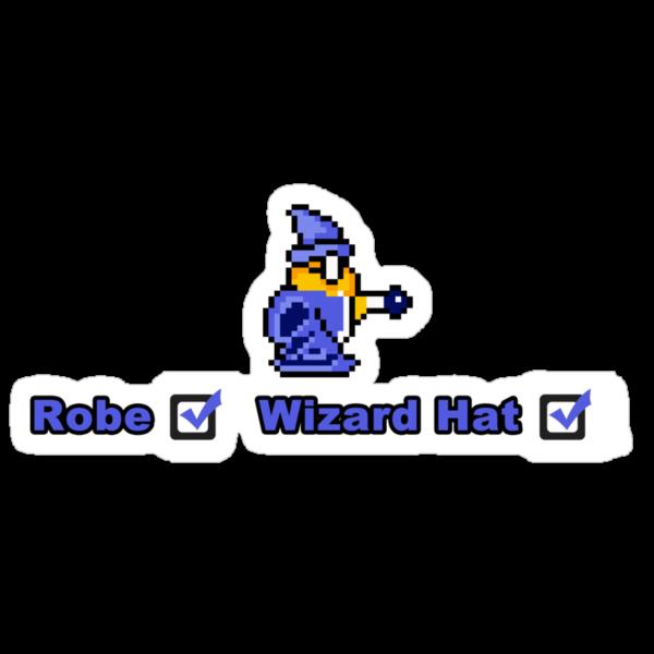Robe & Wizard Hat by shikijiyu