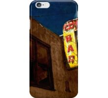 Cowboy bar in Dodson, Montana iPhone Case/Skin