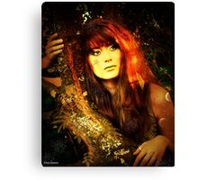 jungle jane Canvas Print