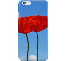 Red Poppy - Mohnblume 2 iPhone Case/Skin