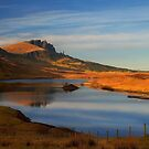 Old man of Storr, Trotternish, Isle of Skye, Scotland. by PhotosEcosse