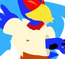 Super Smash Bros Falco Melee Sticker