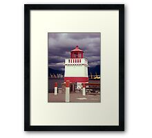 Stanley Park Lighthouse Framed Print