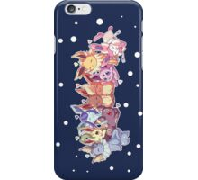 pokemon eevee vaporeon espeon umbreon evolutions anime shirt iPhone Case/Skin