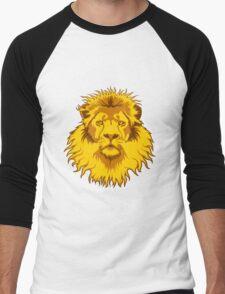 Lion Head Men's Baseball ¾ T-Shirt