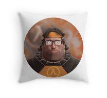 Hoovy Freeman Throw Pillow