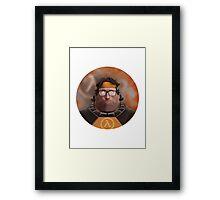 Hoovy Freeman Framed Print