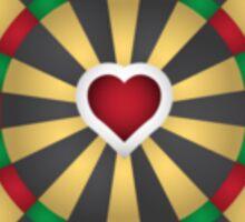 Heart Dart Sticker