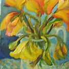 YELLOW TULIPS, the ebb and flow by Barbara Sparhawk
