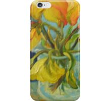 YELLOW TULIPS, the ebb and flow iPhone Case/Skin