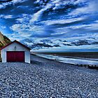 Sheringham Beach Norfolk UK by Mark Snelling