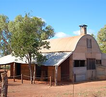 Early Australian Outback Architecture.  by TheGratefulDad
