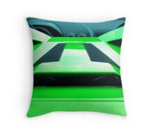 apple green  Throw Pillow