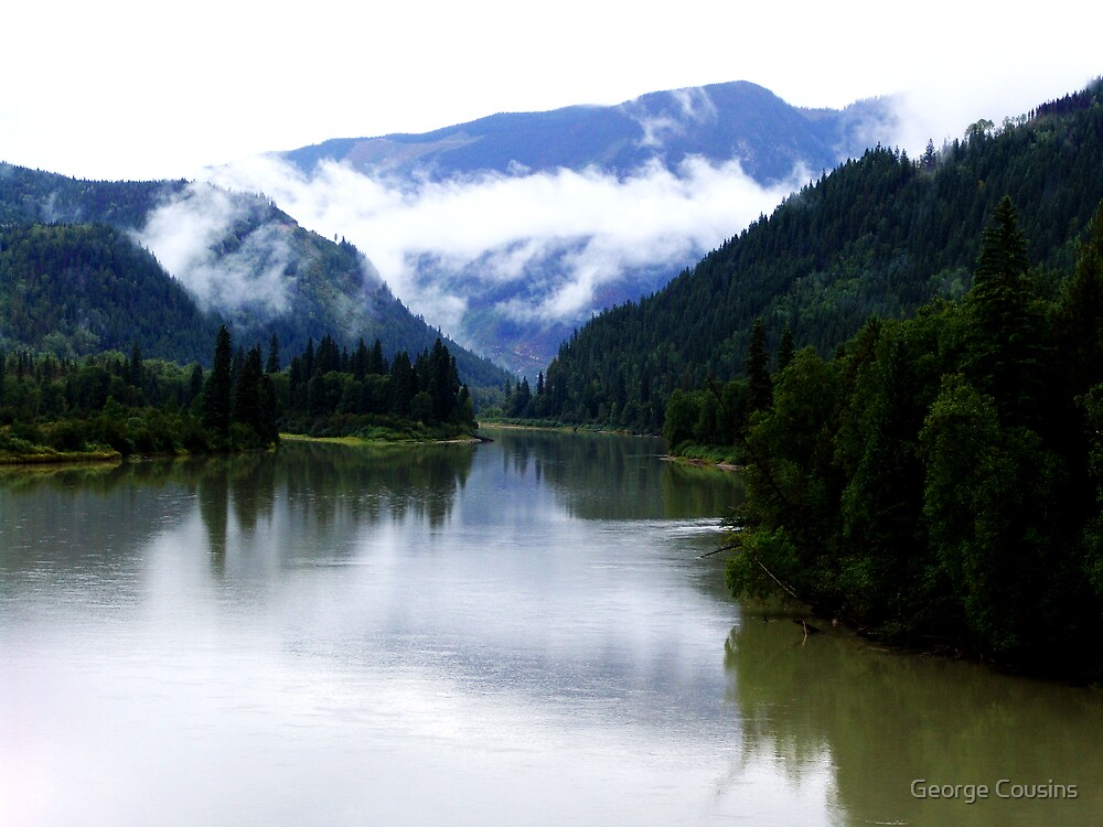 North Thompson River by George Cousins