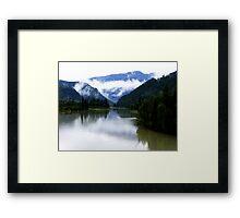 North Thompson River Framed Print