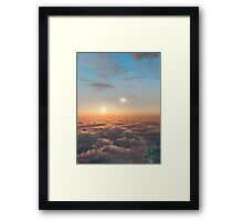 Planet of Kepler 35 Framed Print