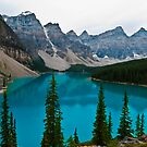 Moraine Lake, Valley of The Ten Peaks, Canada by Consuelo Seitz