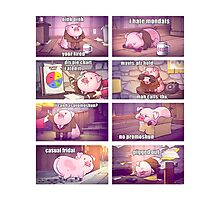 Know Your Meme: Waddles Photographic Print