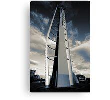 Monochrome Tower Canvas Print