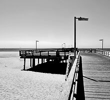 BOARDWALK AT PORT HUENEME by Paul Quixote Alleyne
