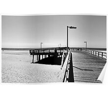 BOARDWALK AT PORT HUENEME Poster