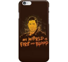 My World is Fire iPhone Case/Skin