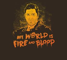My World is Fire Unisex T-Shirt