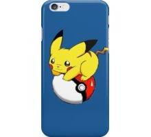 pokemon pikachu pokeball cute anime shirt iPhone Case/Skin