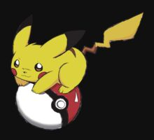 pokemon pikachu pokeball cute anime shirt Kids Clothes