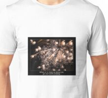 Go Out With A Bang Fireworks Display Unisex T-Shirt